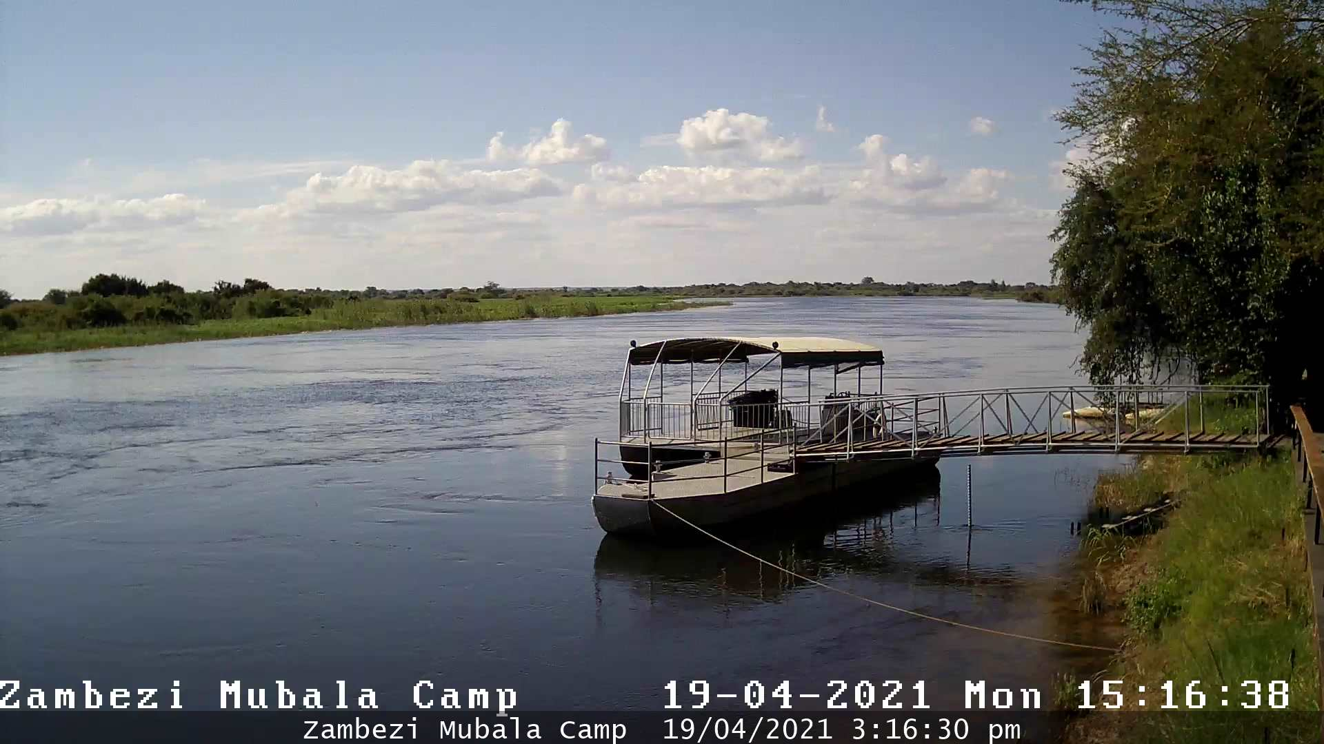 Zambezi Mubala Camp WebCam